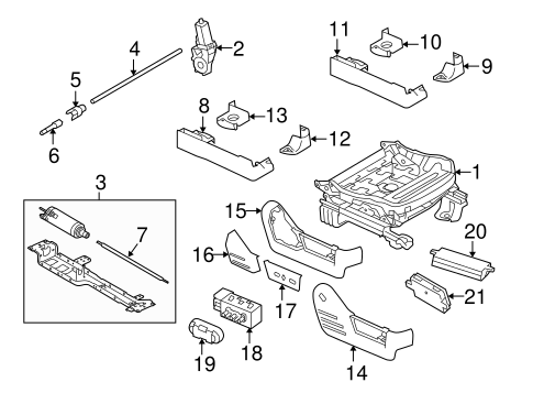 tracks components for 2010 ford f 150