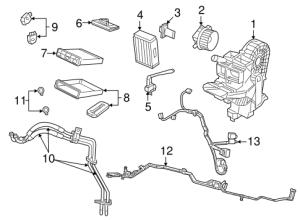 Auxiliary Heater & AC for 2008 Dodge Grand Caravan   Mopar Parts