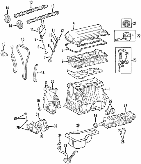 toyota corolla le engine diagram  center wiring diagram