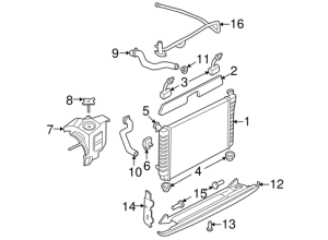Radiator & Components for 2001 Buick Century | GM
