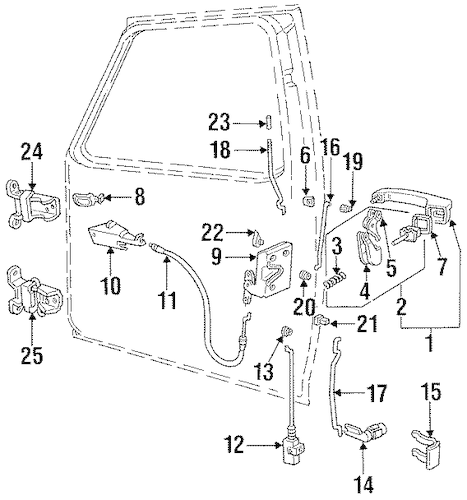 1995 Ford F 150 Front Suspension Diagram