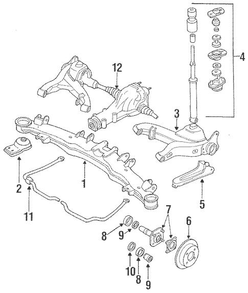 1988 300zx wiring diagram database 300ZX Vacuum Diagram 1988 nissan differential mount rear 300zx 88 300zx turbo