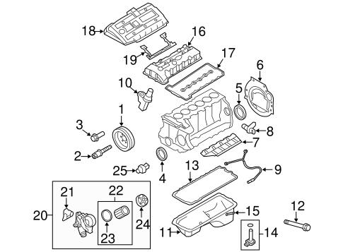 engine parts for 2008 bmw 328i