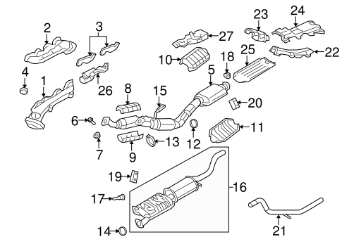 exhaust manifold for 2007 ford explorer