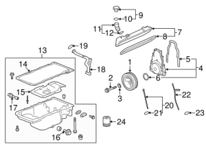 OEM 2009 Pontiac G8 Engine Parts Parts | GMPartsOnline