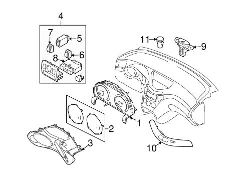diagram 2006 subaru b9 tribeca engine file pb11885 Subaru Instrument-Panel subaru h6 3 2004 engine diagram car repair manuals and