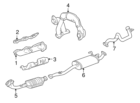 exhaust manifold for 1999 toyota