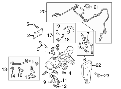 exhaust manifold for 2014 ford fusion