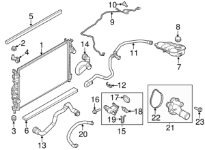 Radiator & Components for 2013 Ford Focus | TascaParts