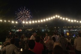 portland, restaurants, fourth of july, fireworks, waterfront, three degrees