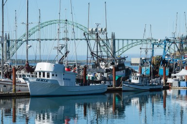 Oregon has an entire border on the Pacific Ocean -- fishing communities like the one in Newport, Oregon help shape the palate and business of fresh seafood.
