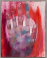 Red Left Hand oil on canvas 2016