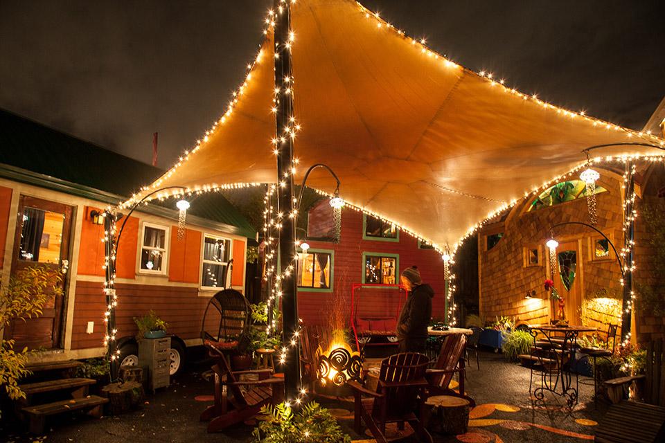 Caravan, The Tiny House Hotel on NE Alberta St. in Portland, Ore. © Tim LaBarge 2016
