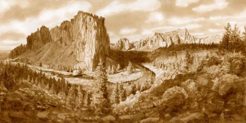 Smith Rock Panorama