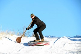 1859_November_December_2013_Snow_Suping_Oregon_Postcard