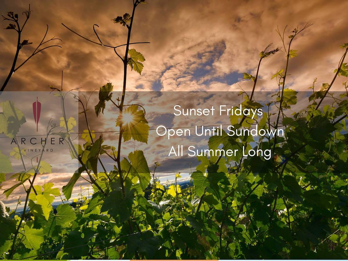 Sunset Fridays @ Archer Vineyard