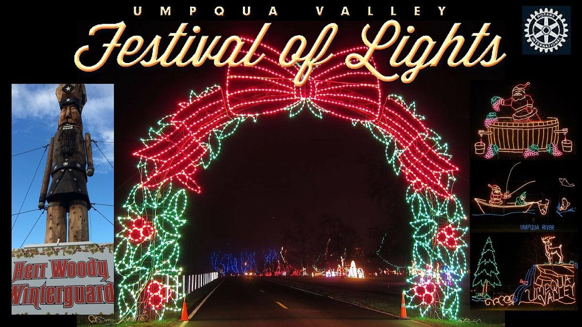 25th Annual Umpqua Valley Festival of Lights