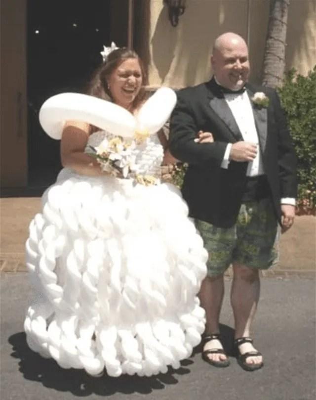 Most Ugliest Wedding Dress