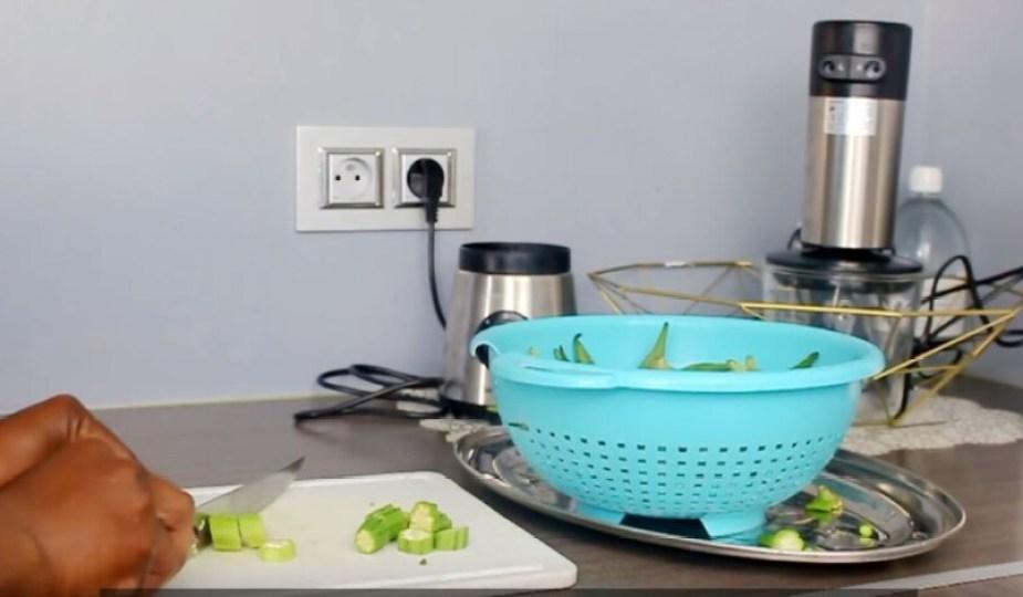 cuisine vidéo sauce gombo