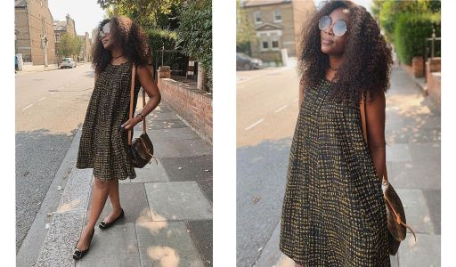 DL'actrice Genevieve Nnaji en mode mini kaba ngondo