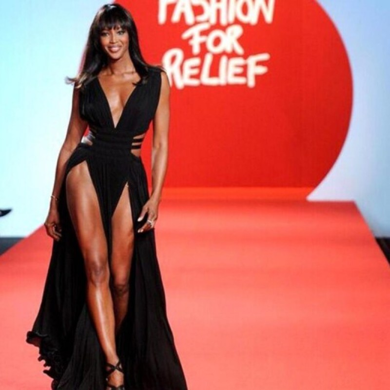 DZALEU.COM : African Lifestyle Magazine - Black celebrities : Naomi Campbell Fashion For Relief Show 2019, London