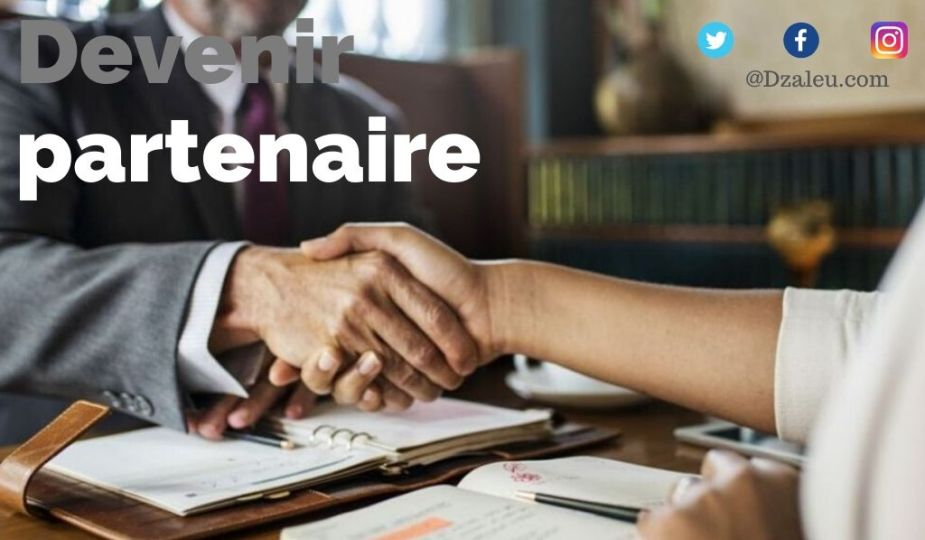 Dzaleu.com : devenir partenaire