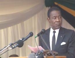 Teodoro Obiang Nguema Bassago, président de la Guinée Equatoriale