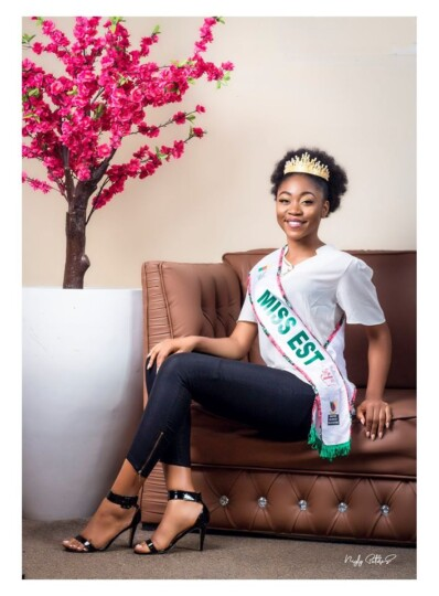 Theresa Ange NGASSI (N°16), 19 ans (Miss Est), Miss People Choice Cameroun 2020