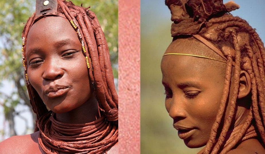 Femmes Himba de Namibie