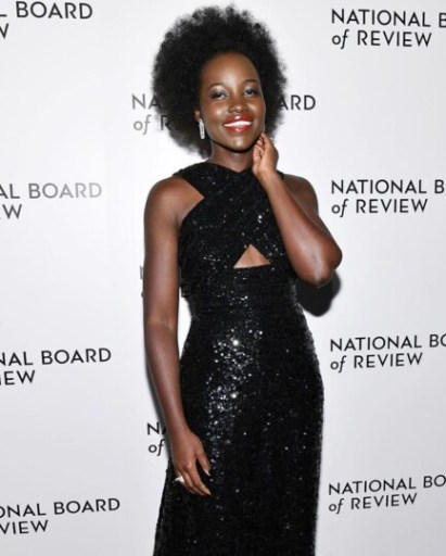 Lupita Nyong'o en afro boule au National Board Of Review (NBR) Gala 2020