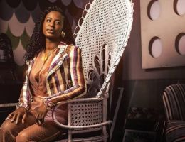 Charlotte Dipanda (Cameroun) fashion look