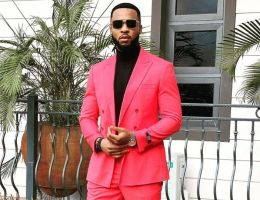 Flavor Nabania (Nigeria) fashion look