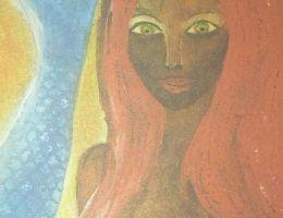 Illustration d'une mamiwata (sirène africaine)