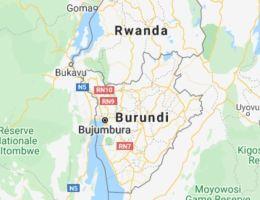 Burundi carte map