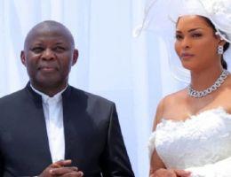 Vital Kamerhe et sa femme Hamida Chatur (RDC)
