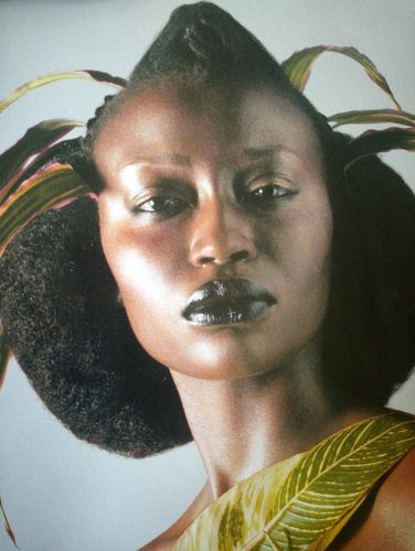 CFemme Throwback : Make-up plantes et mode - Dzaleu.com