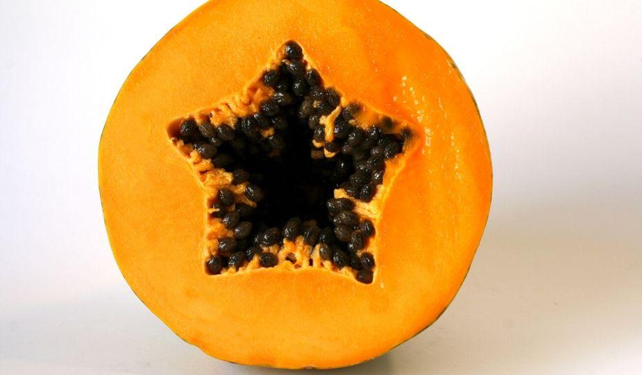Papaye tranchée - Papaya fruit