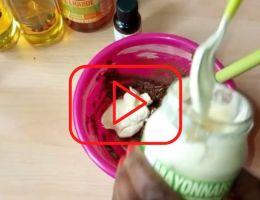 DIY masque capillaire hydratant (vidéo) dzaleu mag
