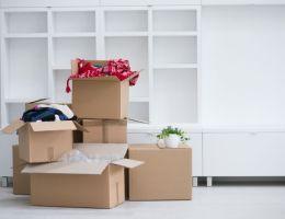 Déménagement cartons appartement logement