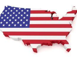 usa etats-unis map carte drapeau