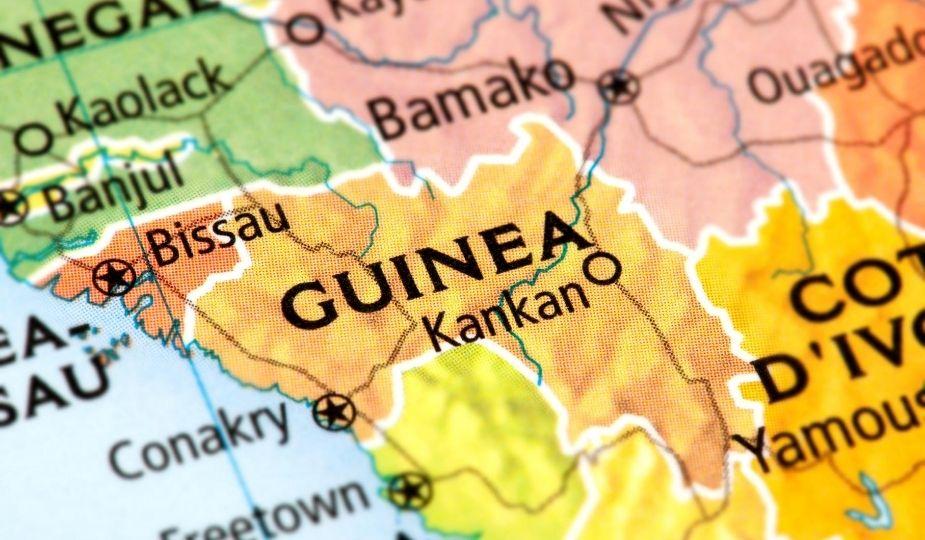 Guinée Conakry Kankan map carte