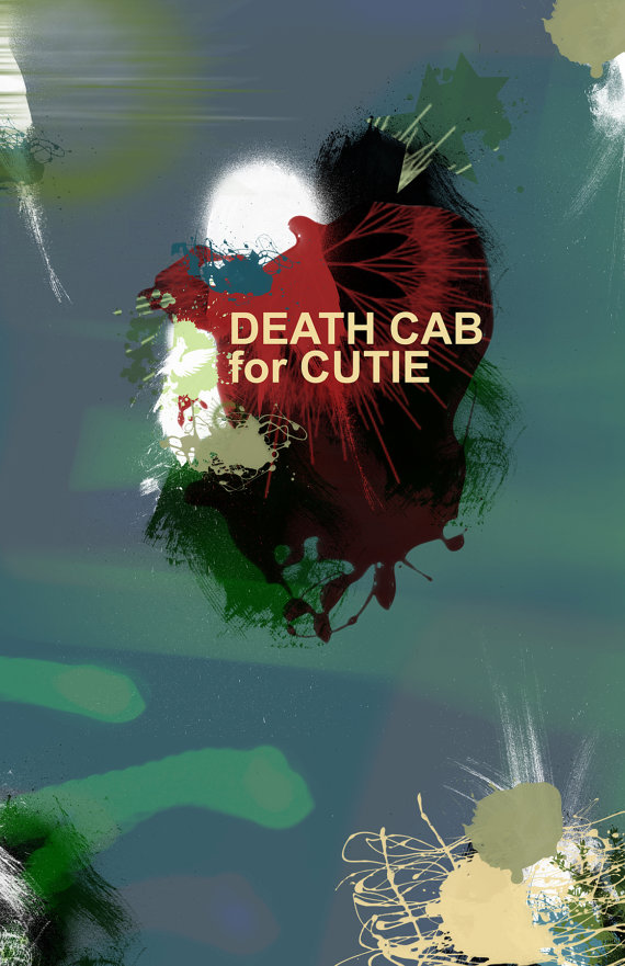 death cab for cutie poster sold by dose