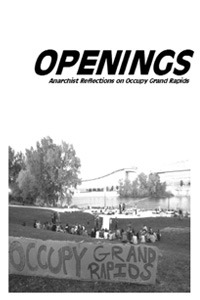 Openings: Anarchist Reflections on Occupy Grand Rapids