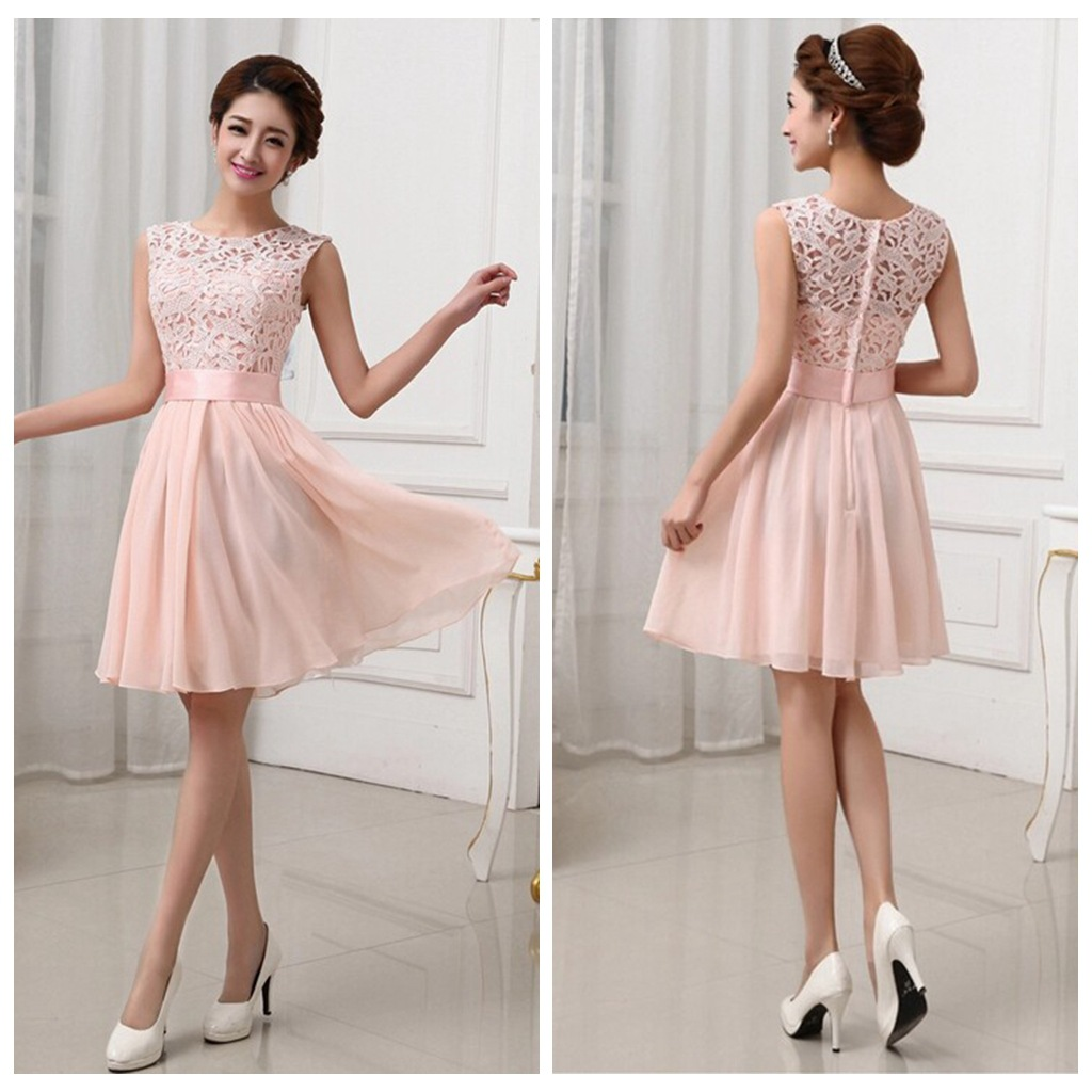 Lace Bridesmaid Dresses Short Bridesmaid Dresses Chiffon