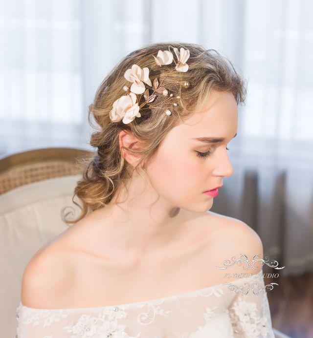 handmade wedding hair accessories, bridal hair pins, formal hair pins, wedding hair piece, best bridesmaid gift, bridesmaid hair clip j644w2553 from
