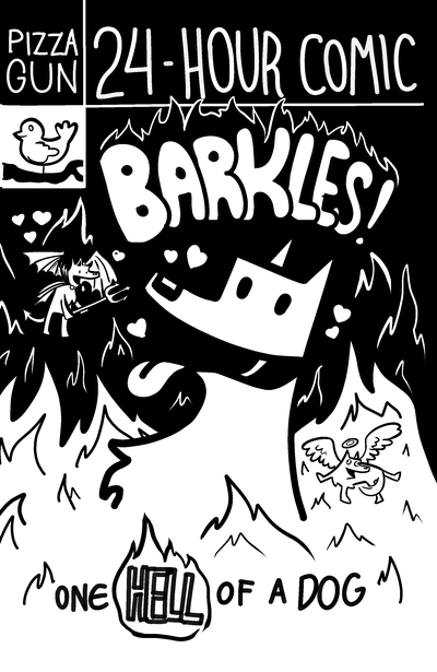 Book: barkles! one hell of a dog