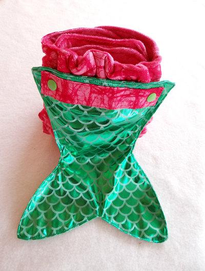Mermaid Tail Diaper