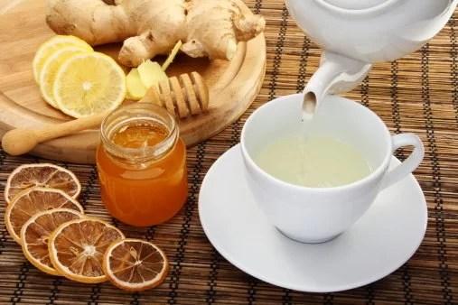 Zielona herbata z imbirem wspomaga odchudzanie