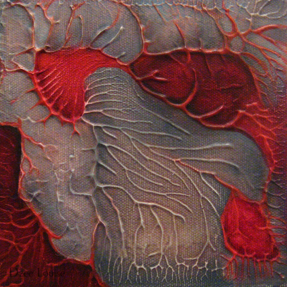 QDP 2 - oil on canvas - 6 x 6 inches