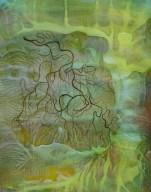Tintinnabulate (Situation II-06) - mixed media on paper - 11 x 14 inch